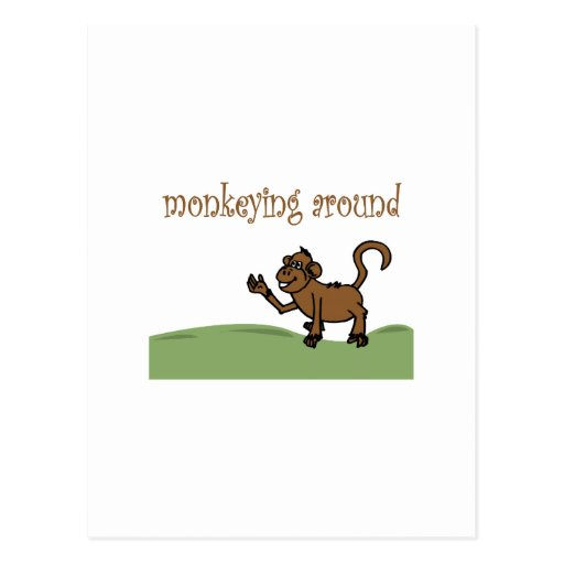 Monkeying Around Postcards