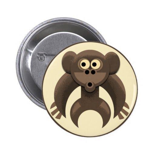 Monkeypit Logo 2 Inch Round Button