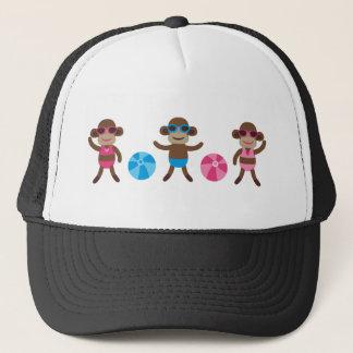 MonkeyPoolParty6 Trucker Hat