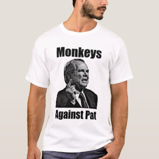 Monkeys Against Pat Robertson T-Shirt