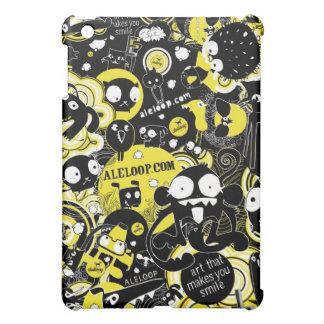 Monkeys and Cats Aleloop iPad Case
