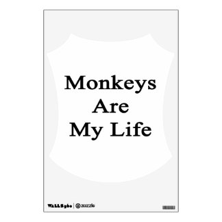 Monkeys Are My Life Wall Graphic