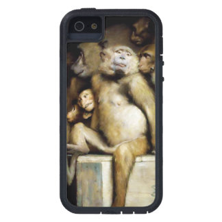 Monkeys as Judges of Art (Detail) Case For iPhone SE/5/5s