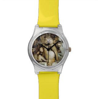 Monkeys as Judges of Art (Detail) Wrist Watches