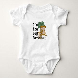 Monkeys Big Brother Baby Bodysuit