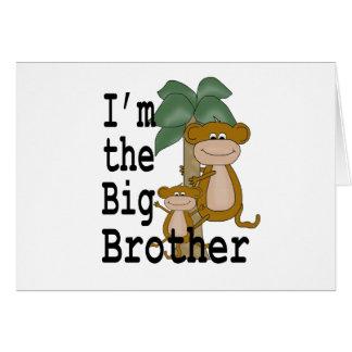 Monkeys Big Brother Card