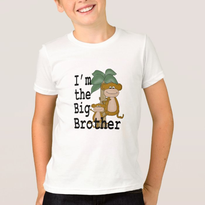 Monkeys Big Brother T-Shirt