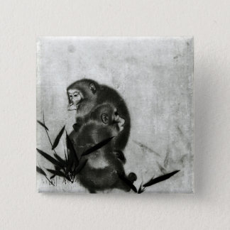 Monkeys Button