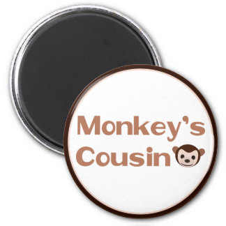 Monkey's Cousin Refrigerator Magnets
