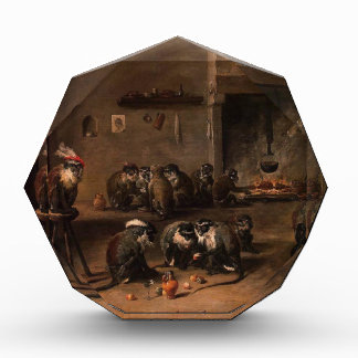 Monkeys in a Kitchen by David Teniers the Younger Award