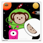 Monkeys in Space Aliens Planet Wall Decal