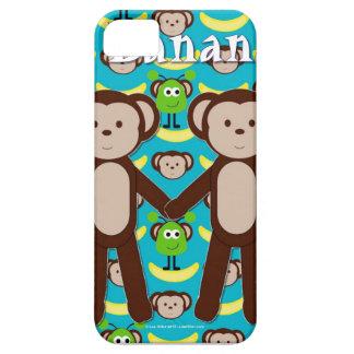 Monkeys in Space Go Bananas iPhone SE/5/5s Case