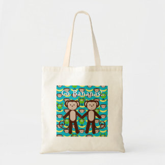 Monkeys in Space Go Bananas Tote Bag