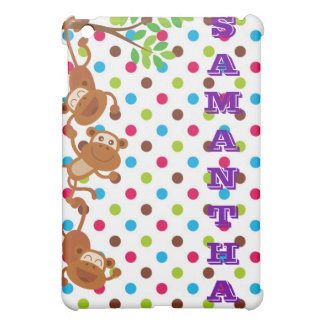 Monkeys ipad case (personalize)