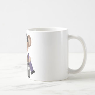 Monkeys of The Caribean Classic White Coffee Mug
