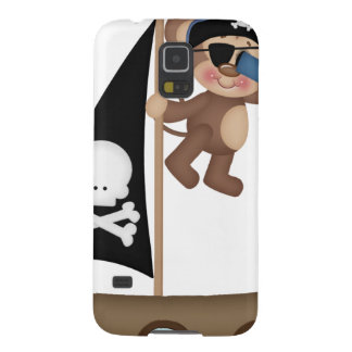 Monkeys of The Caribean pirates Case For Galaxy S5