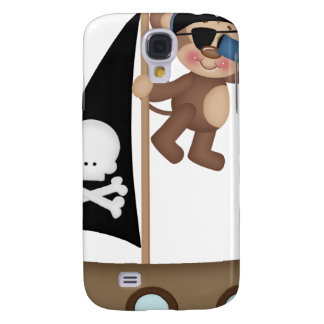 Monkeys of The Caribean pirates Samsung Galaxy S4 Cover