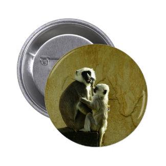 Monkeys Pinback Button