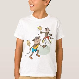 Monkeys Playing Tennis T-Shirt