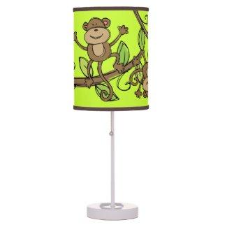 Monkeys Playtime Table Lamp