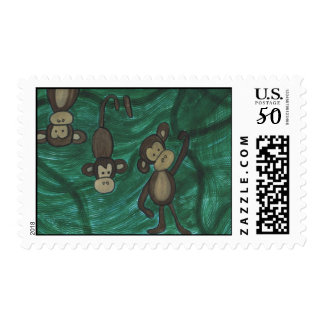 Monkeys Postage