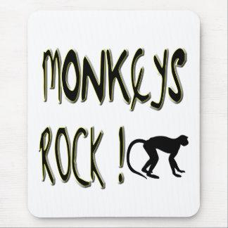 Monkeys Rock! Mousepad