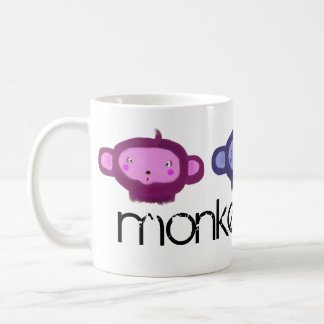 Monkeys Rulez Coffee Mugs