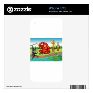 Monkeys Skins For The iPhone 4S