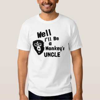 Monkeys Uncle T-shirt