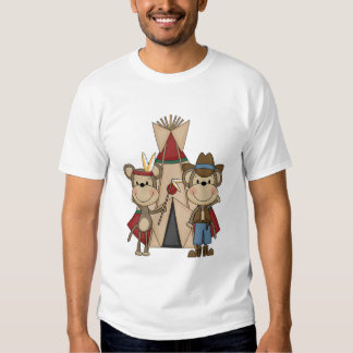 Monkeys Wild West Tshirts and Gifts