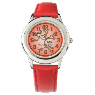 Monkeys Wrist Watch
