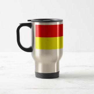 Monki bandera de Polonia Tazas De Café