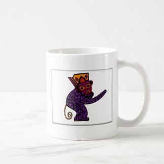 Monkie Classic White Coffee Mug
