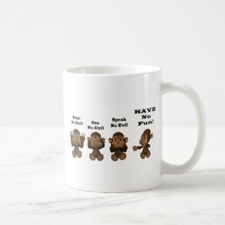 monkies tazas de café