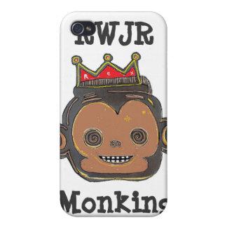 Monking Around iPhone 4/4S Cases
