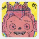 MonKIng Square Sticker