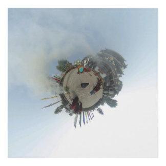 MONKS 360 PANEL WALL ART
