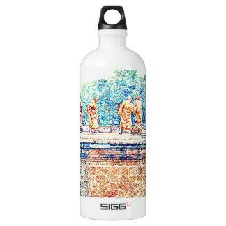 Monks @ Angkor Wat Aluminum Water Bottle