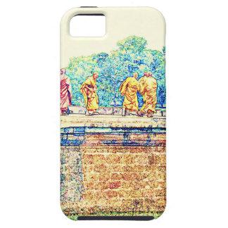 Monks @ Angkor Wat iPhone 5 Case