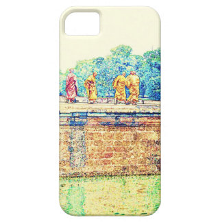 Monks @ Angkor Wat iPhone 5 Cases