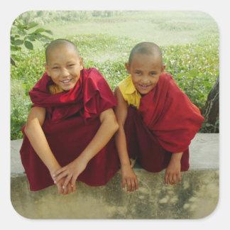 Monks at Deer Park Sticker