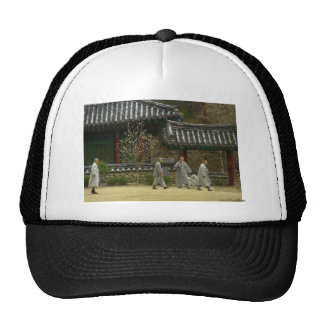 Monks at palgong mountain, South Korea Trucker Hat