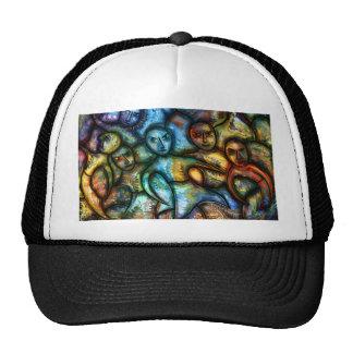 Monks by rafi talby trucker hat