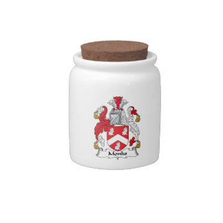 Monks Family Crest Candy Dish