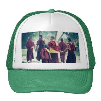 Monks in Sarnath Hat