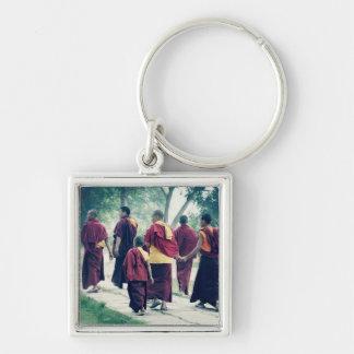 Monks in Sarnath Keychain
