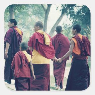 Monks in Sarnath Sticker