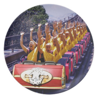 Monks-on-a-Roller-Coaster-67499.jpg Party Plates