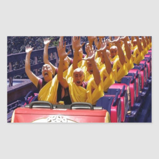 Monks-on-a-Roller-Coaster-67499.jpg Rectangular Sticker