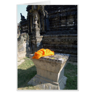Monks Robes Greeting Card